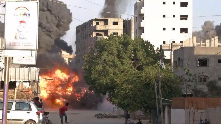 Des tirs de roquettes ont eu lieu depuis Gaza sur les villes du sud d'Israël.