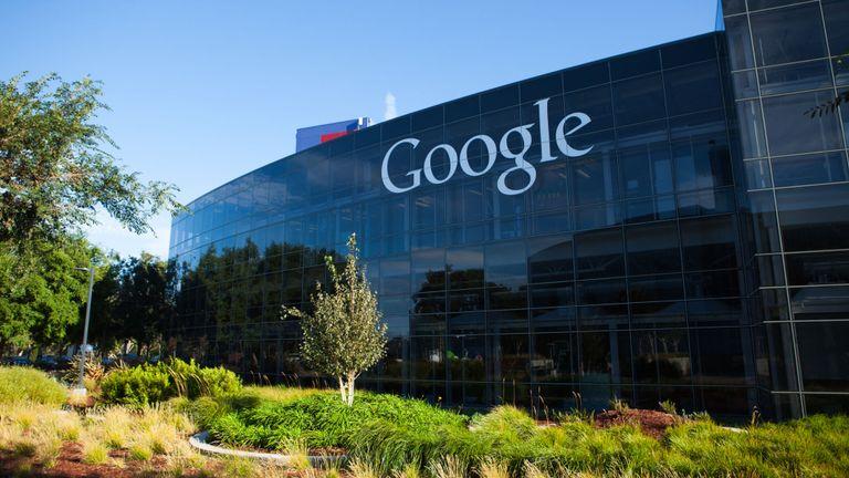 Siège social de Google à Mountain View en Californie
