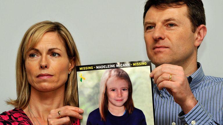 Kate et Gerry McCann disent qu'ils ont encore de l'espoir