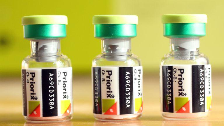 Le vaccin ROR protège contre la rougeole, les oreillons et la rubéole