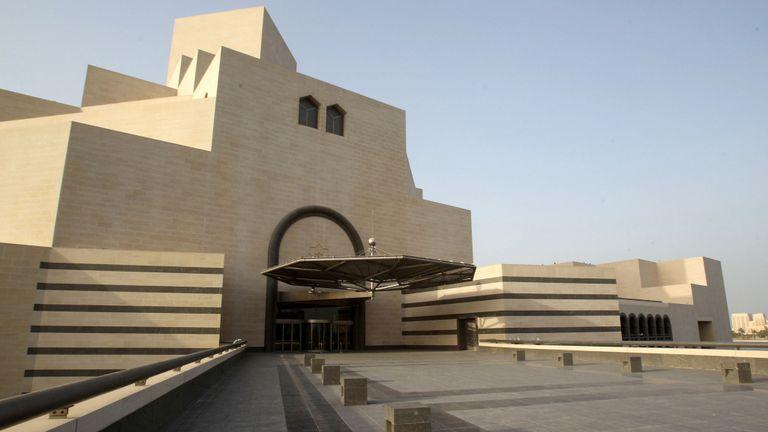 I.M. Pei a conçu le Musée d'art islamique de Doha, au Qatar