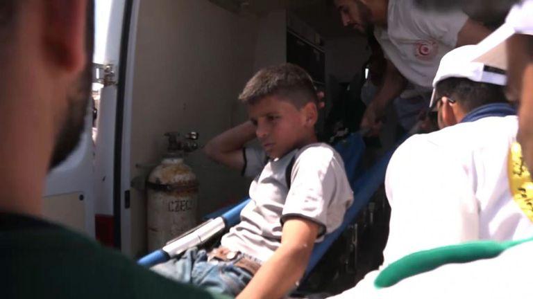 Près de 50 personnes, y compris des enfants, ont été blessées lors de manifestations à la frontière avec Gaza