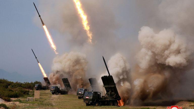 L'armée nord-coréenne mène une