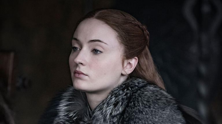 Sansa Stark a été rejoint par sa soeur Arya à Winterfell lors de la saison huit