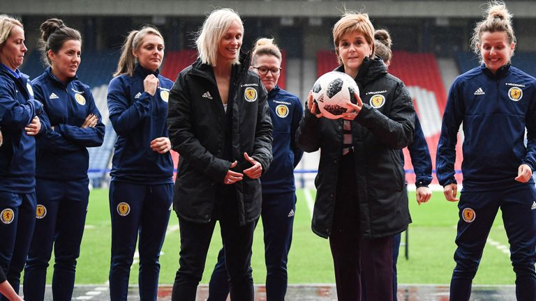 L'équipe féminine d'Ecosse s'est qualifiée pour la coupe du monde