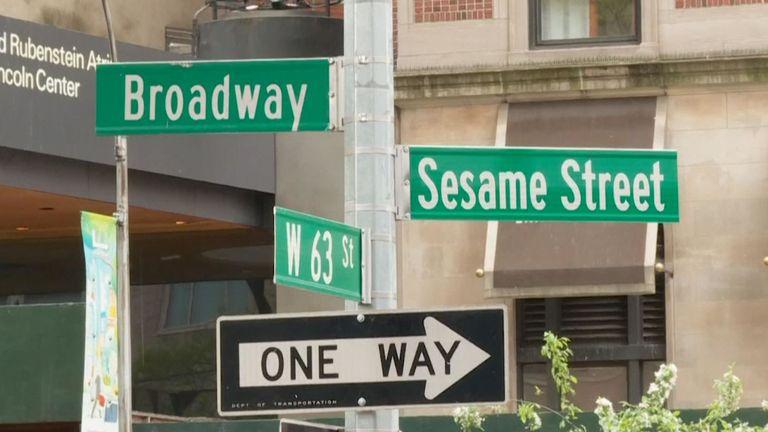 Sesame Street à New York