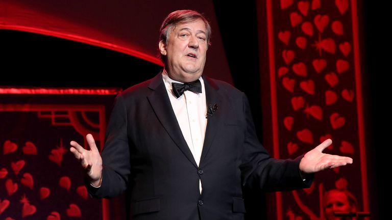Stephen Fry a signé la lettre de soutien à l'Eurovision