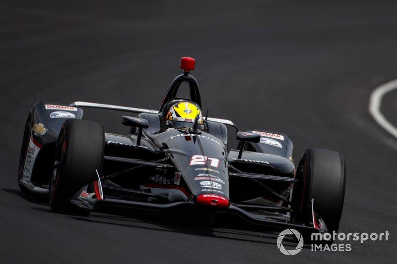 3. Spencer Pigot, Ed Carpenter Racing Chevrolet