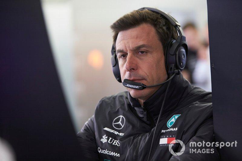 Toto Wolff, directeur exécutif (affaires), Mercedes AMG