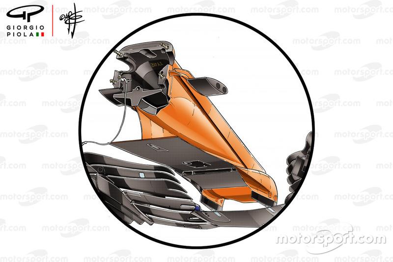 McLaren MCL33, aile avant, Grand Prix dEspagne