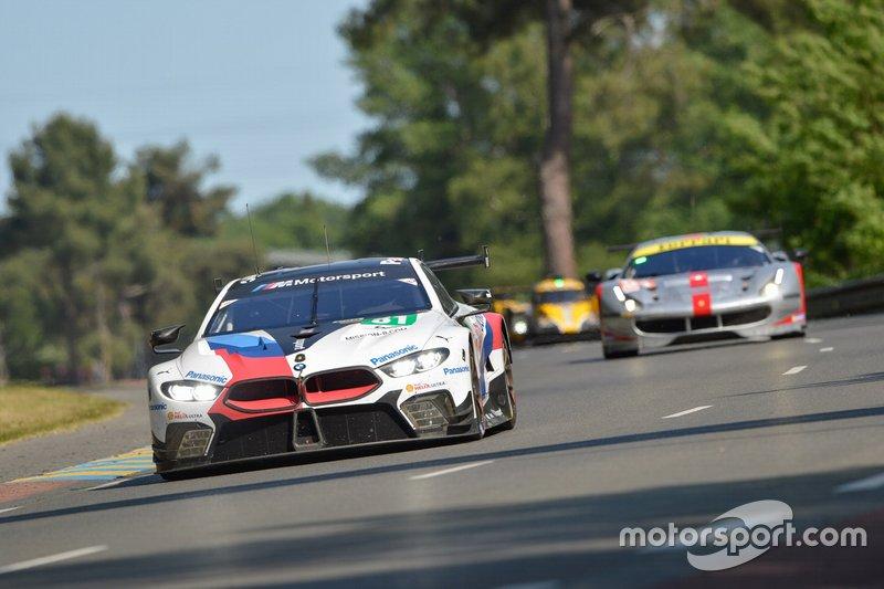 BMW Team MTEK n ° 81 BMW M8 GTE: Martin Tomczyk, Nicky Catsburg, Philipp Eng, Antonio Felix da Costa, Jesse Krohn