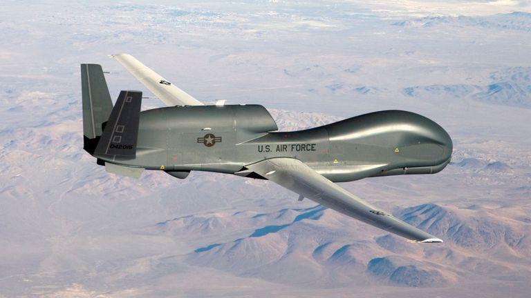 L'armée américaine a nié avoir un drone sur l'Iran (photo du dossier)