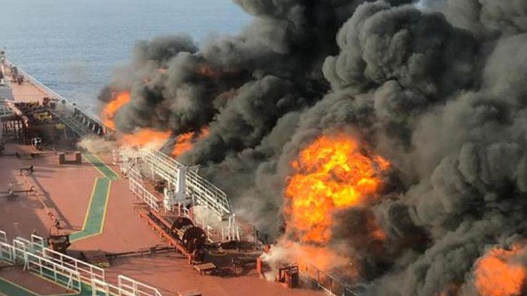 Un pétrolier américain aurait été attaqué par l'Iran