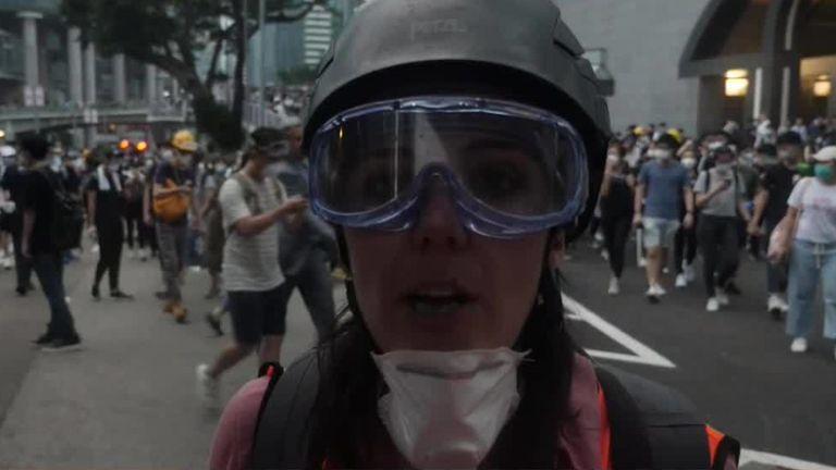 PROTESTATIONS DE HONG KONG