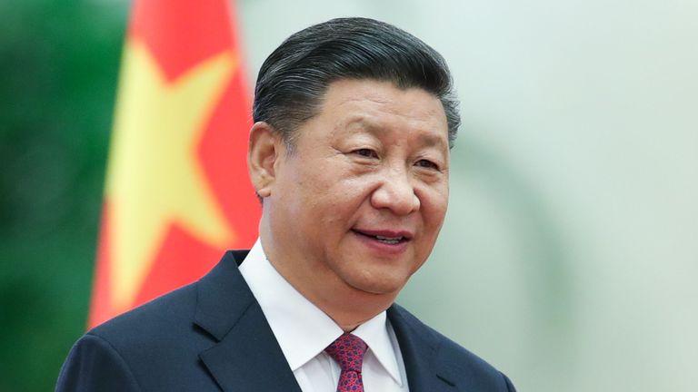 Beijing, Chine - 7 septembre: Le président chinois Xi Jinping assiste à la cérémonie de bienvenue du Prince Albert II de Monaco dans la grande salle du peuple le 7 septembre 2018 à Beijing, en Chine. A l'invitation du président chinois Xi Jinping, le Prince Albert II, chef de l'Etat de la Principauté de Monaco, effectuera une visite d'Etat en Chine du 5 au 8 septembre. (Photo de Lintao Zhang / Getty Images)