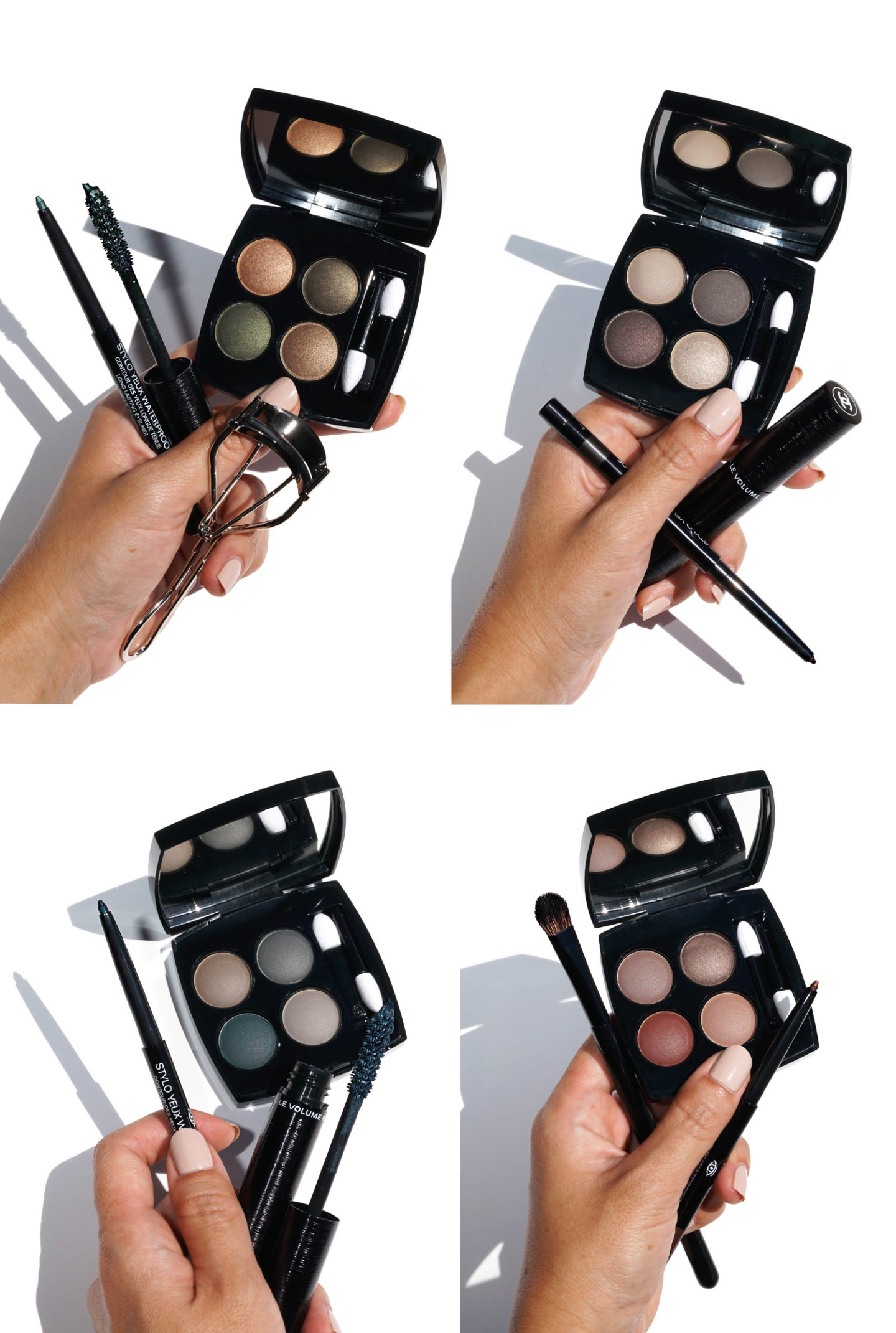 Chanel Beauty - La nouvelle collection Eye Review et Swatches | Le look book beauté