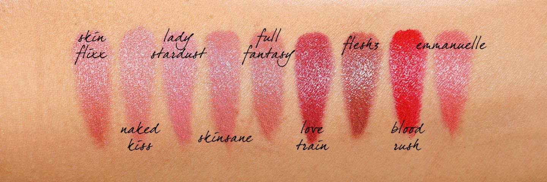 Échantillons de rouge à lèvres Pat McGrath BlitzTrance | Le look book beauté