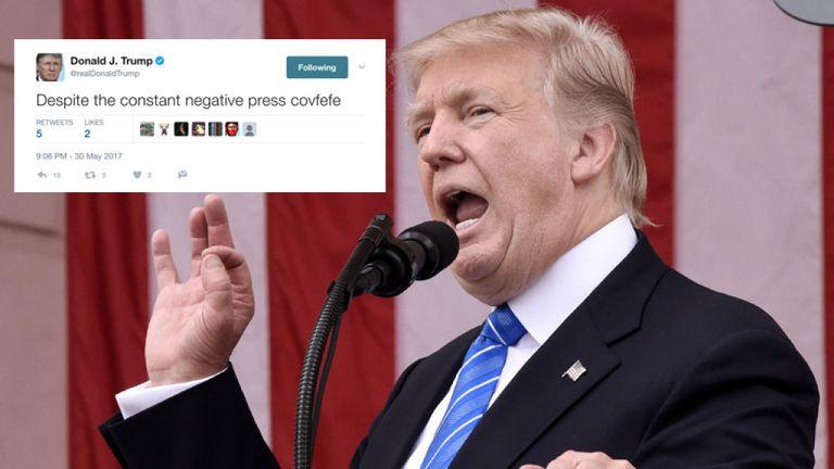 Le message de Donald Trump sur Covfefe