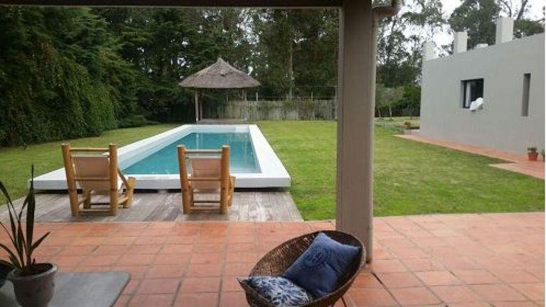 La piscine de Salve dans la station balnéaire de Punta del Este. Pic. Ministère de l'intérieur uruguayen
