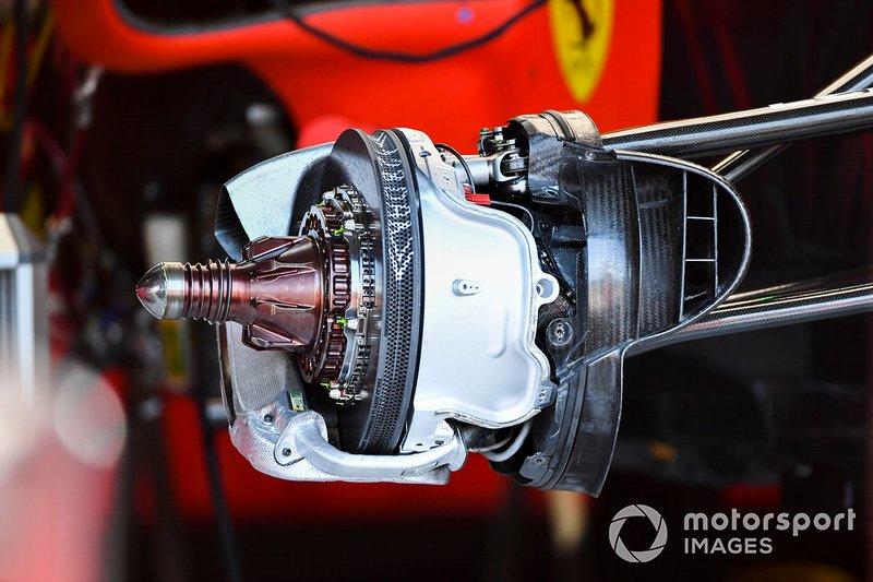 Disque de frein avant de Ferrari SF90