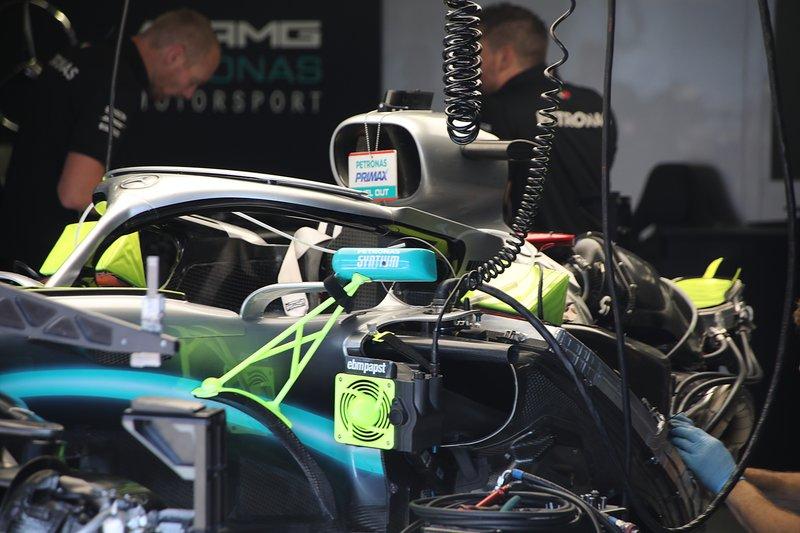 Mercedes AMG F1 W10, moteur