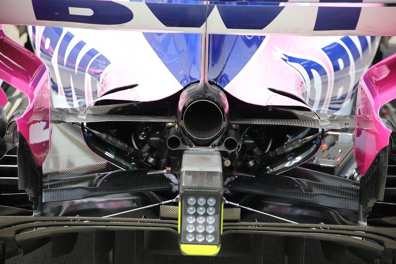 Racing Point RP19, arrière