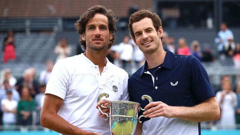 Andy Murray et Feliciano Lopez ont obtenu de l'argenterie chez Queen