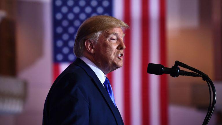 Donald Trump a donné une conférence de presse à la suite du sommet du G20 à Osaka, au Japon