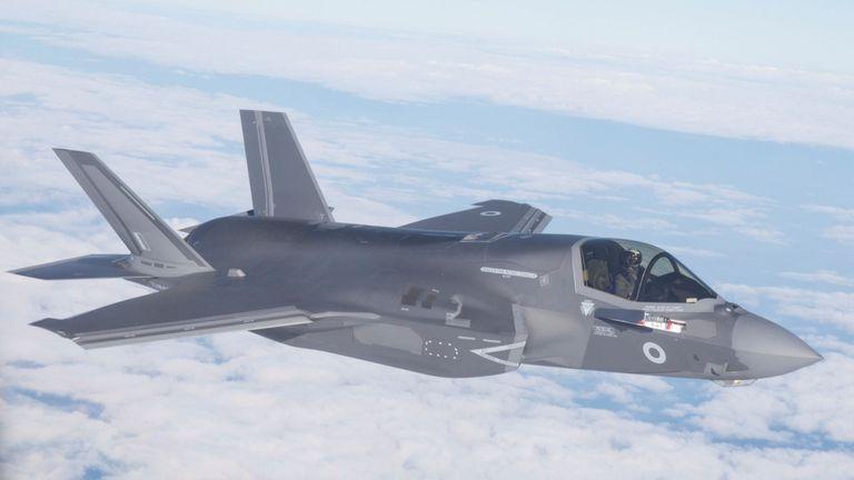 La première livraison d'avions F35B de la Royal Air Force volera de la base aérienne de Marine Corps à Beaufort, aux États-Unis, en direction de leur nouvelle base RAF Marnham