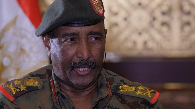 Le général Abdel Fattah al Burhan