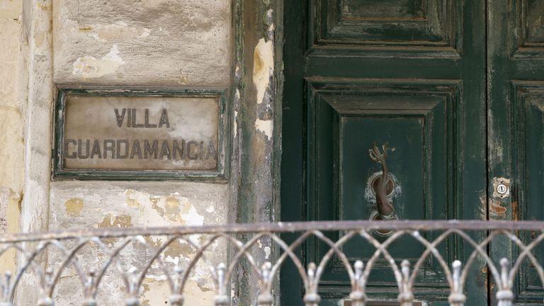 La Villa Guardamangia est vue à Pieta, à l'extérieur de La Valette, à Malte 25 avril 2015