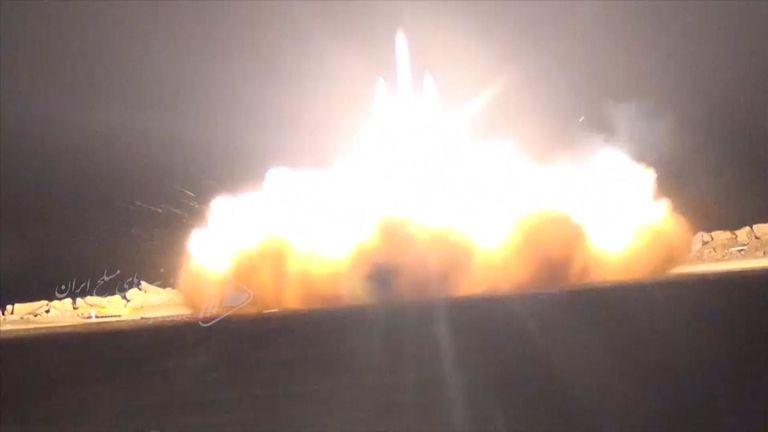 L'armée iranienne a publié une vidéo qui, selon elle, montre un drone de surveillance américain abattu par les forces iraniennes