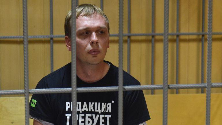 Golunov est accusé de possession de drogue
