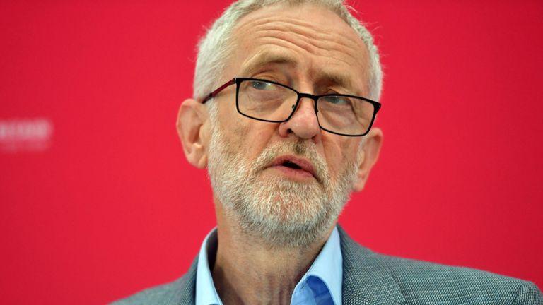 Jeremy Corbyn, dirigeant syndical