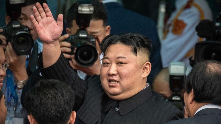 """Kim Jong Un aurait déclaré: """"La prévention est la clé de la production dans le secteur de l'élevage""""."""