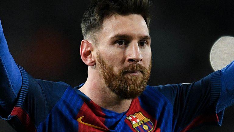 Lionel Messi à Barcelone