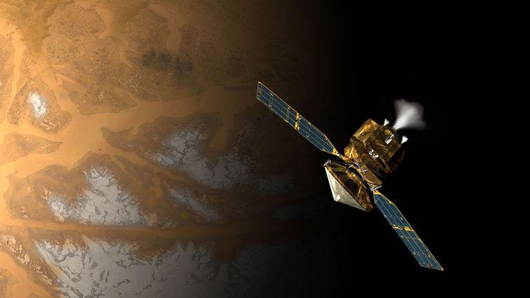 L'orbiteur de reconnaissance de Mars
