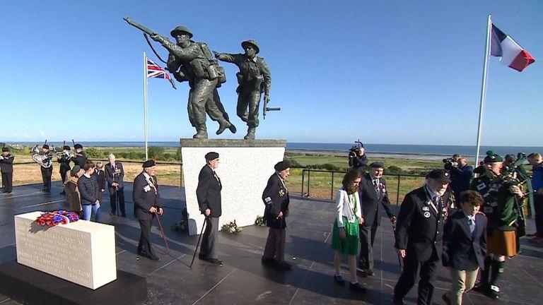 Le nouveau British Normandy Memorial à Ver-Sur-Mer
