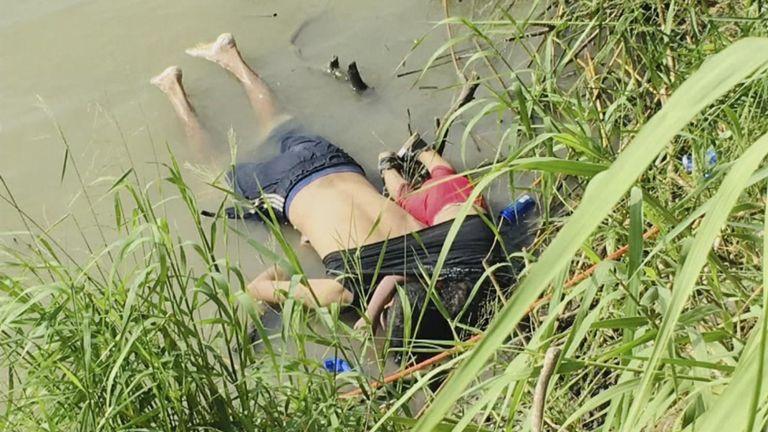 Un père et sa fille ont été retrouvés dans le Rio Grande