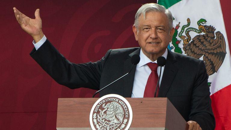 Obrador affirme que le Mexique fait ce qu'il peut pour limiter les migrations sans violer les droits humains