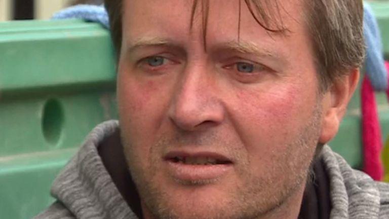 Richard Ratcliffe est en grève de la faim depuis une semaine