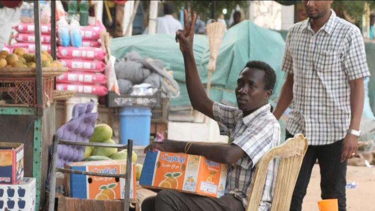 Beaucoup se sentent assiégés dans la ville de Khartoum