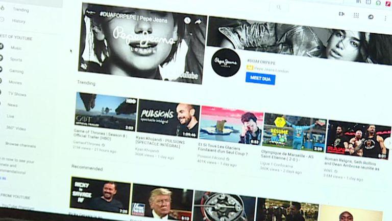 Google a demandé à utiliser l'algorithme du moteur de recherche YouTube.