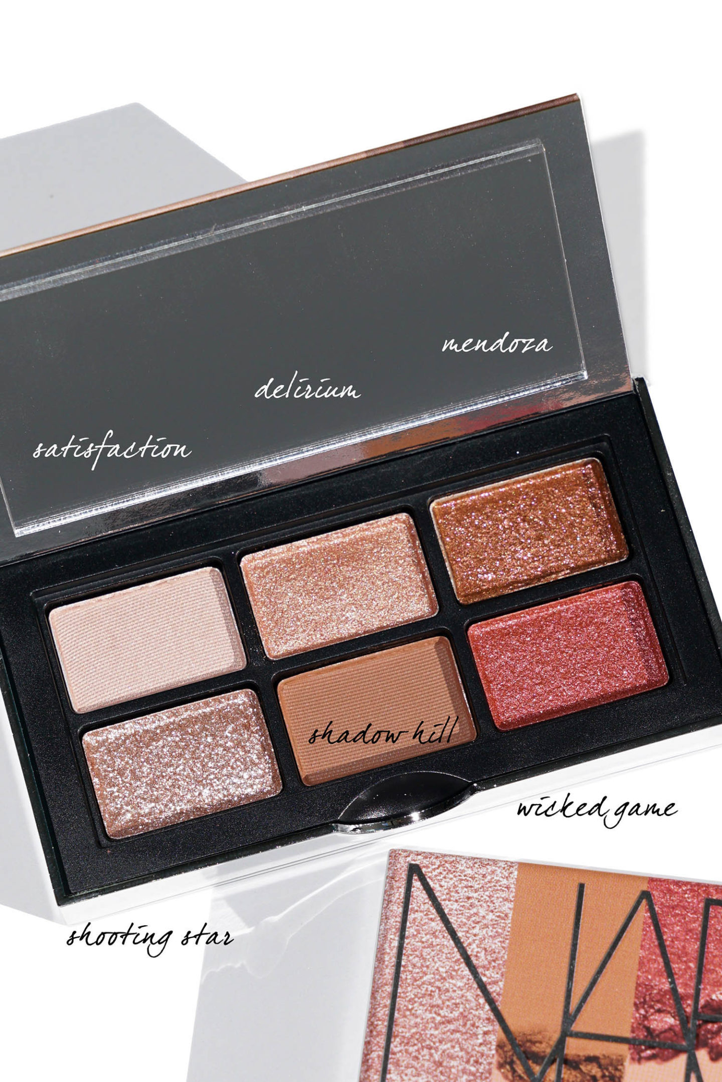 NARS Mini Wanted Eyeshadow Palette examen via le look book beauté