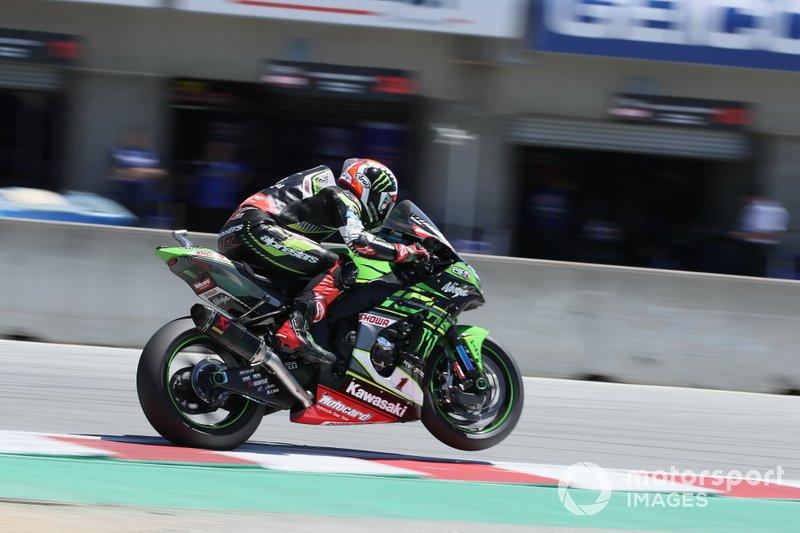 Jonathan Rea, équipe de course Kawasaki