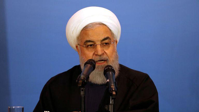Le président iranien, Hassan Rouhani, a annoncé dimanche qu'il allait franchir une nouvelle étape dans l'augmentation de l'enrichissement d'uranium