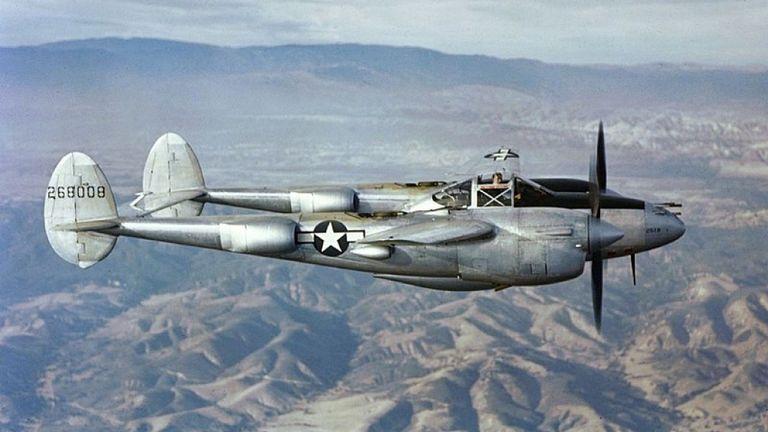 Le P38 Lightning était l'un des principaux avions de combat américains utilisés pendant la Seconde Guerre mondiale.