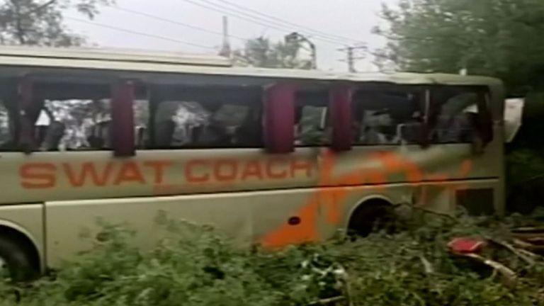 34 autres personnes ont été blessées dans l'accident de bus