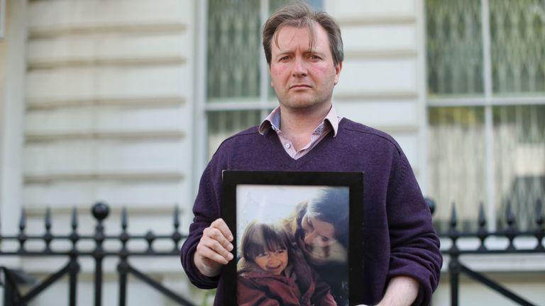 Richard Ratcliffe, époux de la femme irano-britannique Nazanin Zaghari-Ratcliffe