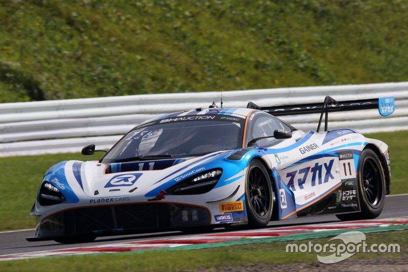 Planex Smacam Racing McLaren 720 S GT3 n ° 11: Mika Hakkinen, Katsuaki Kubota, Hiroaki Ishiura